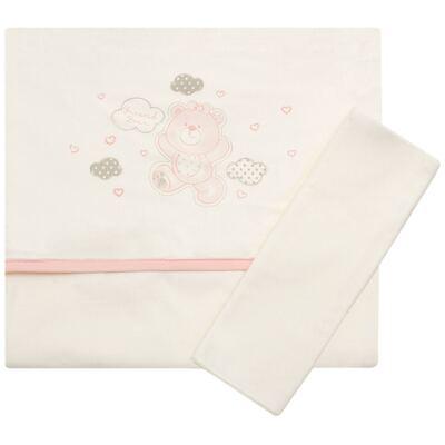 Imagem 1 do produto Jogo de lençol para berço em malha Ursinha - Classic for Baby - JLM557 JOGO DE LENCOL MALHA URSA