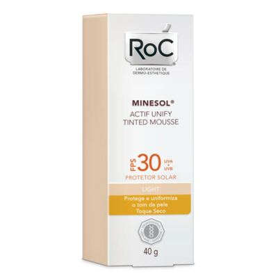 Imagem 3 do produto Kit Roc Minesol C Superiour Concentrado 16% + Protetor Solar Actif Mousse Light FPS 30 40g