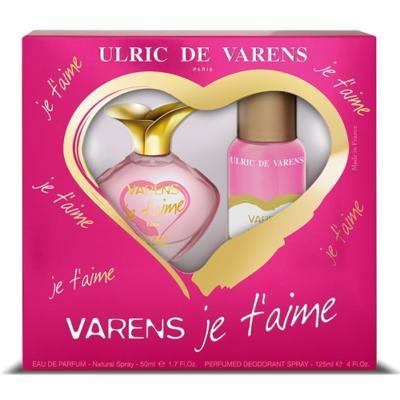 Varens Je t'aime Ulric de Varens - Feminino - Eau de Parfum - Perfume + Desodorante - Kit