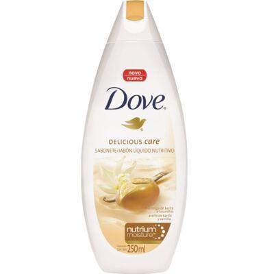Imagem 1 do produto Sabonete Líquido Dove Delicious Care Manteiga de Karité e Baunilha 250ml