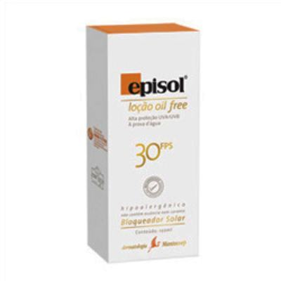 Imagem 1 do produto Protetor Solar Episol FPS30 Loção Oil Free Mantecorp Skincare 120g