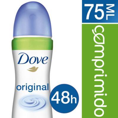 Imagem 2 do produto Desodorante Dove Comprimido Aerosol Invisible Dry 53g