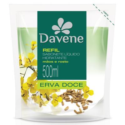 Imagem 1 do produto Sabonete Líquido Davene Erva Doce Refil 500ml