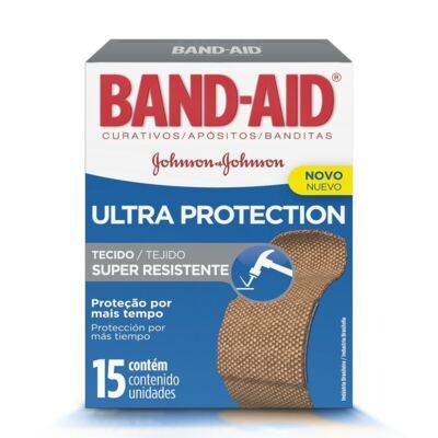 Curativo Band-Aid Ultra Protection Johnson´s 15 Unidades