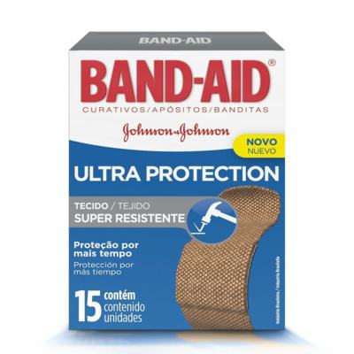 Imagem 1 do produto Curativo Band-Aid Ultra Protection Johnson´s 15 Unidades