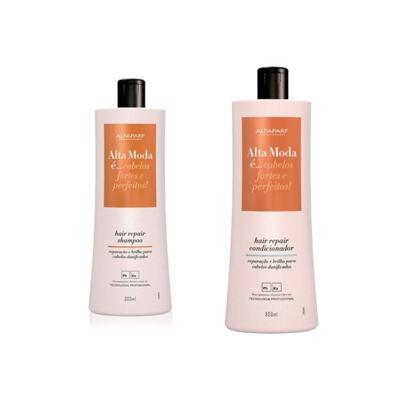 Imagem 1 do produto Shampoo + Condicionador Alta Moda Hair Repair 300ml
