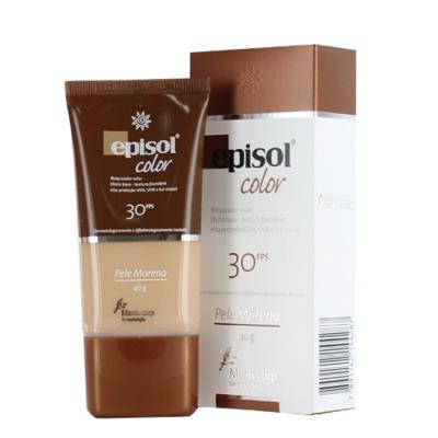 Protetor Solar Episol Color Pele Morena FPS 30 Mantecorp Skincare 40g