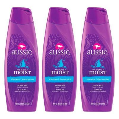 Kit 3 Shampoo Aussie Moist 400ml