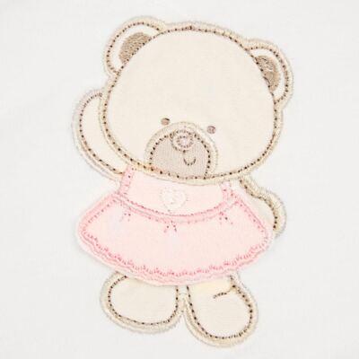 Imagem 2 do produto Toalha Max com capuz Pink Baby Bear - Classic for Baby