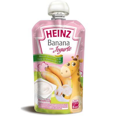 Imagem 1 do produto Papinha para bebe Banana com Iogurte (6m+)  - Heinz