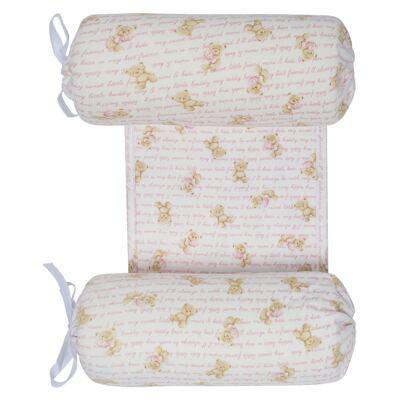 Imagem 1 do produto Segura nenê em suedine Maternity Pink Bear - Classic for Baby