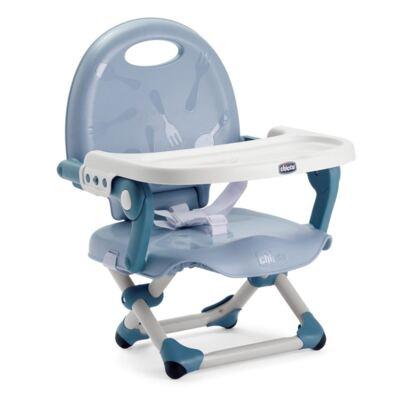 Cadeira de Alimentação Assento Elevatório Pocket Snack Blue Sky (6m+) - Chicco