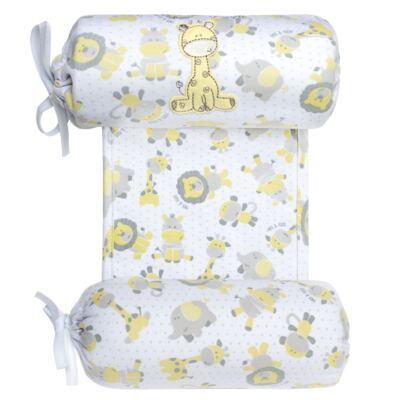 Segura nenê em suedine Nature Giraffe & Friends - Classic for Baby