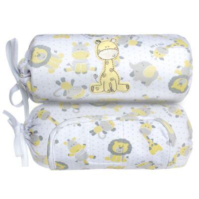 Imagem 2 do produto Segura nenê em suedine Nature Giraffe & Friends - Classic for Baby