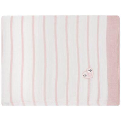Imagem 1 do produto Manta em tricot Pink Captain - Baby Classic
