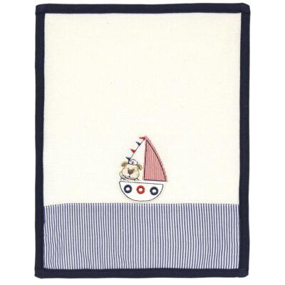 Imagem 2 do produto Kit com 2 fraldas de boca atoalhadas Sailor Dog - Classic for Baby