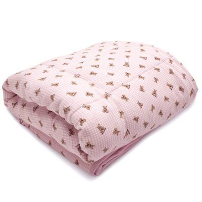 Imagem 1 do produto Edredom para berço em algodão egípcio c/ jato de cerâmica e filtro solar fps 50 Teddy Sammy - Classic for Baby