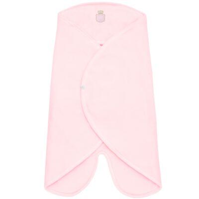 Cobertor de vestir em microsoft Royalty Bear Rosa - Classic For Baby