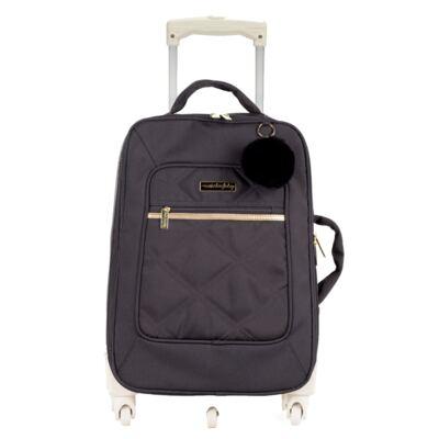 Imagem 1 do produto Mala Maternidade com rodízio Soho Black - Masterbag