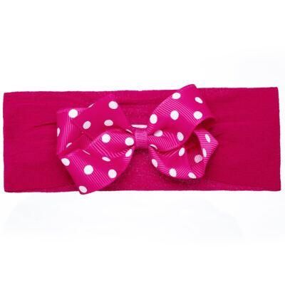 Imagem 1 do produto Faixa meia Laço gorgurão Pink Poá - Roana