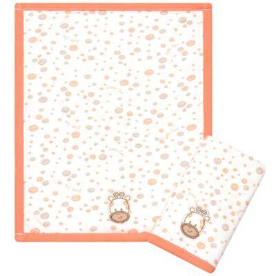 Imagem 1 do produto Kit com 2 fraldas de boca atoalhadas Girafinha - Classic for Baby
