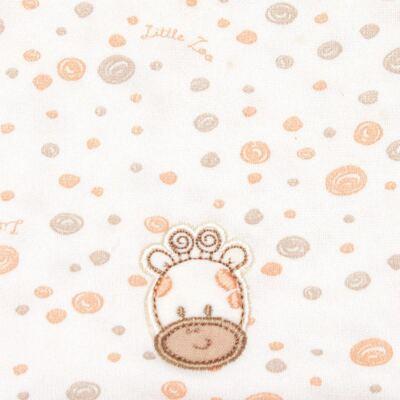 Imagem 2 do produto Kit com 2 fraldas de boca atoalhadas Girafinha - Classic for Baby