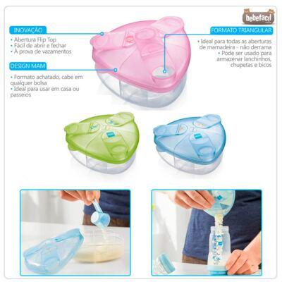 Imagem 2 do produto Porta Leite em pó Milk Powder Box Rosa - MAM