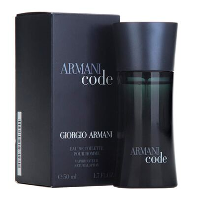 Imagem 2 do produto Armani Code Giorgio Armani - Perfume Masculino - Eau de Toilette - 50ml