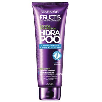 Imagem 1 do produto Creme de Limpeza Fructis Hydra Poo Cachos Fechados 200ml