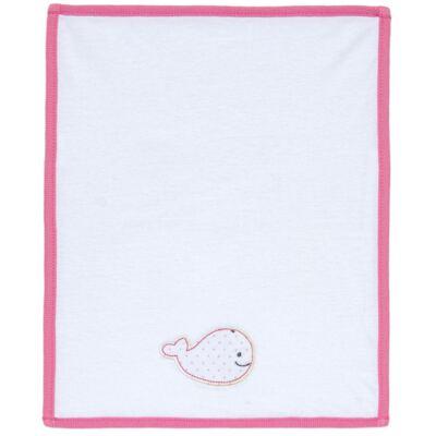 Imagem 2 do produto Kit com 3 fraldinhas de boca em malha Cute Whale - Classic for Baby