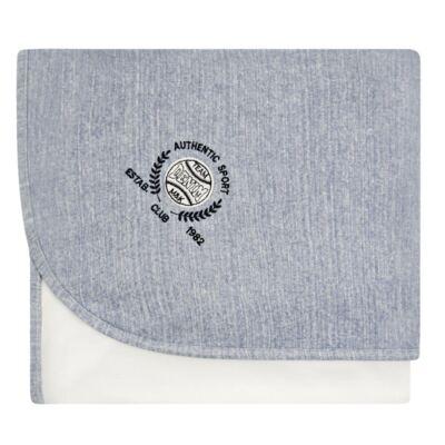 Manta em algodão egípcio c/ jato de cerâmica e filtro solar fps 50 Sport Denim - Mini&Kids
