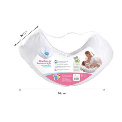 Imagem 4 do produto Almofada de Amamentação Impermeável - Fibrasca