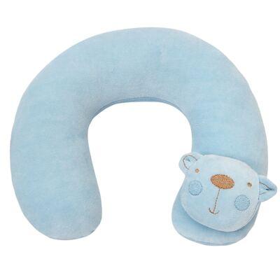 Protetor de pescoço para bebe Ursinho Azul - Biramar Baby
