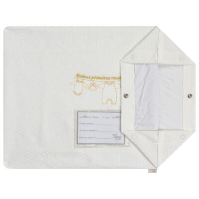 Imagem 4 do produto Kit 3 Saquinhos para maternidade Minhas Primeiras Roupinhas Queen - Anjos Baby