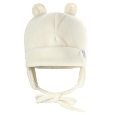 Imagem 1 do produto Gorro Orelhinha para bebe em microsoft Marfim - Piu-Piu
