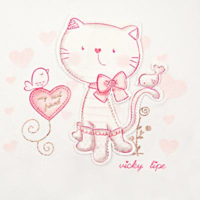 Imagem 2 do produto Manta com recorte em suedine My Little Cat - Vicky Lipe