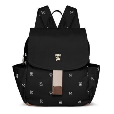Imagem 1 do produto Mochila maternidade Gramado Preta Koala Baby  - Classic for Baby Bags