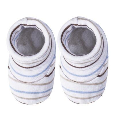 Imagem 3 do produto Kit c/ Touca, Luva e Sapatinho para bebe em malha Aviador - Pingo Lelê