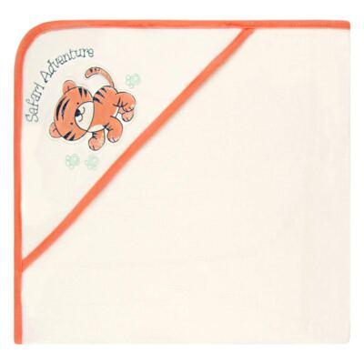 Imagem 1 do produto Toalha com capuz atoalhado Tiger - Classic for Baby
