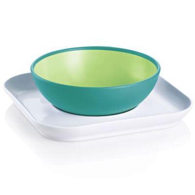Imagem 1 do produto Baby's Bowl & Plate Neutral (6m+) - MAM