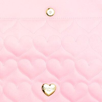 Imagem 4 do produto Trocador Portátil para bebe Corações Matelassê Rosa - Classic for Baby Bags