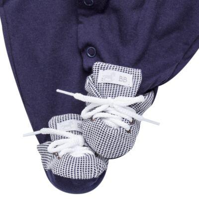 Imagem 4 do produto Jogo Maternidade para bebê: Macacão Suspensório e Manta em suedine Benjamin - Beth Bebê