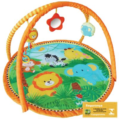 Imagem 2 do produto Tapete de Atividades para bebê Safari Friends (3m+) - Buba