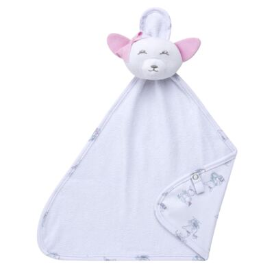 Imagem 1 do produto Naninha para bebe atoalhada para bebe Raposinha - Dedeka