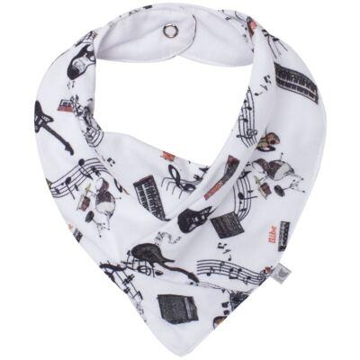 Imagem 1 do produto Babador Bandana em algodão egípcio Rock Star - Bibe