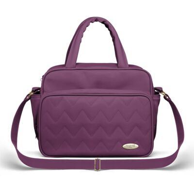Bolsa Térmica para bebe Trento Chevron Ametista - Classic for Baby Bags