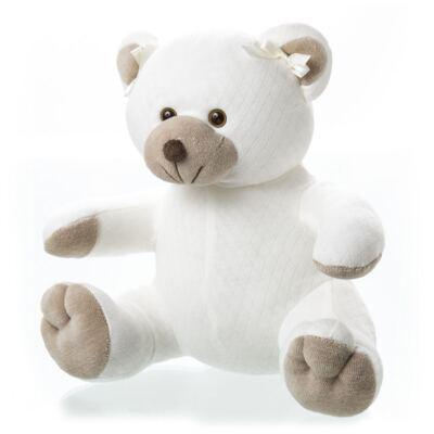 Imagem 1 do produto Bichinho Chocalho em suedine Ursinha - Anjos Baby