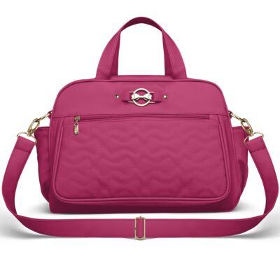 Bolsa maternidade para bebe Liverpool Laços Matelassê Pink - Classic for Baby Bags