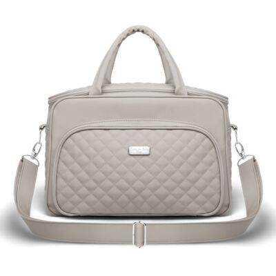 Imagem 1 do produto Bolsa Viena Silver Cinza - Classic for Baby Bags