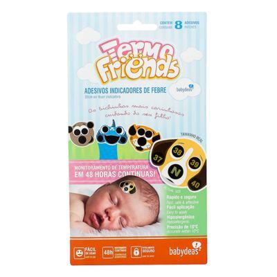 Adesivo termômetro para bebês Termo Friends (4un) - Babydeas - 165707 Termofriends 4 unidades